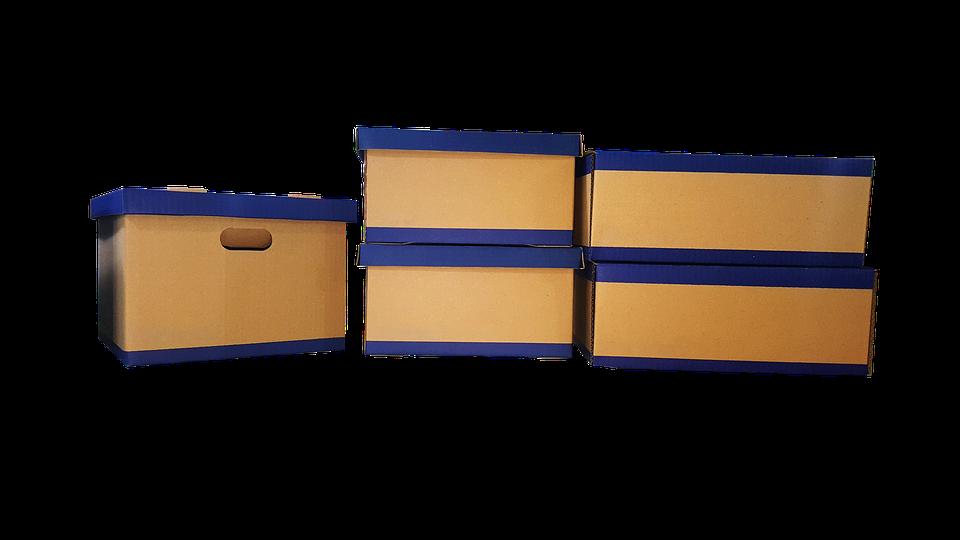 Pět krabic